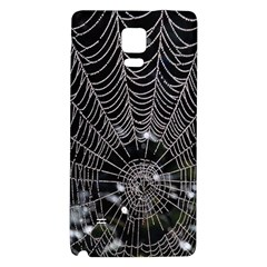Spider Web Wallpaper 14 Galaxy Note 4 Back Case
