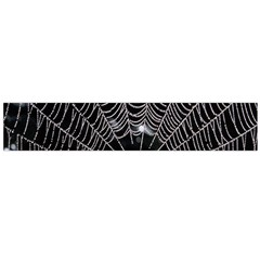 Spider Web Wallpaper 14 Flano Scarf (Large)