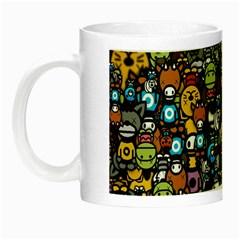 Many Funny Animals Night Luminous Mugs