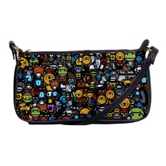 Many Funny Animals Shoulder Clutch Bags