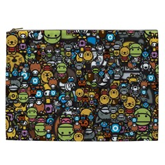 Many Funny Animals Cosmetic Bag (XXL)
