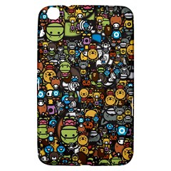Many Funny Animals Samsung Galaxy Tab 3 (8 ) T3100 Hardshell Case