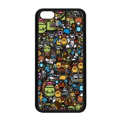 Many Funny Animals Apple Iphone 5c Seamless Case (black)