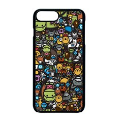 Many Funny Animals Apple Iphone 7 Plus Seamless Case (black)