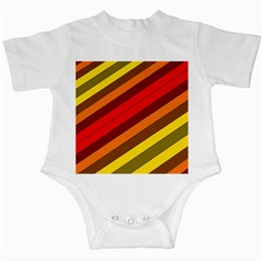 Abstract Bright Stripes Infant Creepers