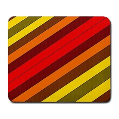 Abstract Bright Stripes Large Mousepads