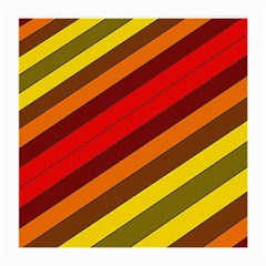 Abstract Bright Stripes Medium Glasses Cloth (2-Side)