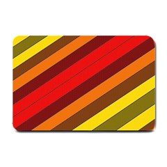 Abstract Bright Stripes Small Doormat