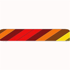 Abstract Bright Stripes Small Bar Mats