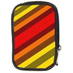 Abstract Bright Stripes Compact Camera Cases
