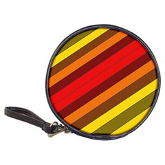 Abstract Bright Stripes Classic 20-CD Wallets