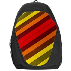 Abstract Bright Stripes Backpack Bag