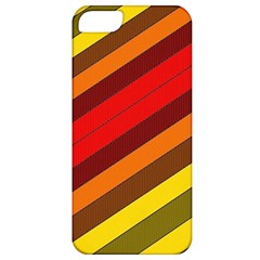 Abstract Bright Stripes Apple Iphone 5 Classic Hardshell Case