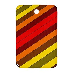 Abstract Bright Stripes Samsung Galaxy Note 8.0 N5100 Hardshell Case
