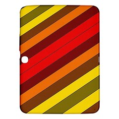 Abstract Bright Stripes Samsung Galaxy Tab 3 (10 1 ) P5200 Hardshell Case