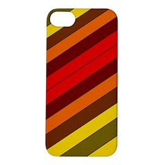Abstract Bright Stripes Apple Iphone 5s/ Se Hardshell Case