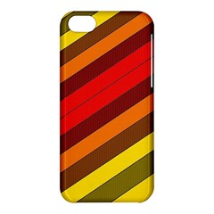 Abstract Bright Stripes Apple Iphone 5c Hardshell Case