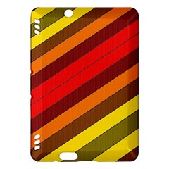 Abstract Bright Stripes Kindle Fire Hdx Hardshell Case