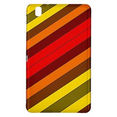 Abstract Bright Stripes Samsung Galaxy Tab Pro 8 4 Hardshell Case