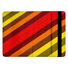 Abstract Bright Stripes Samsung Galaxy Tab Pro 12 2  Flip Case
