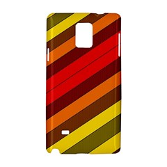 Abstract Bright Stripes Samsung Galaxy Note 4 Hardshell Case