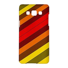 Abstract Bright Stripes Samsung Galaxy A5 Hardshell Case