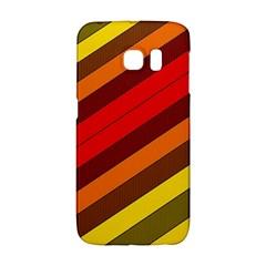 Abstract Bright Stripes Galaxy S6 Edge