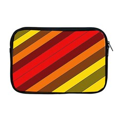 Abstract Bright Stripes Apple Macbook Pro 17  Zipper Case