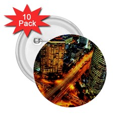Hdri City 2.25  Buttons (10 pack)