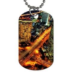 Hdri City Dog Tag (One Side)