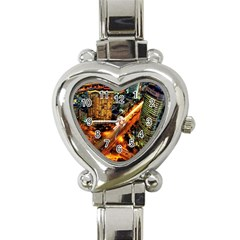 Hdri City Heart Italian Charm Watch