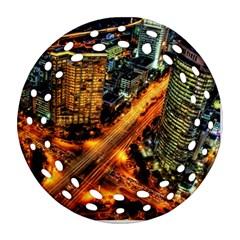 Hdri City Ornament (Round Filigree)