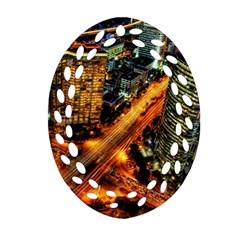 Hdri City Ornament (oval Filigree)