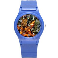 Hdri City Round Plastic Sport Watch (s)