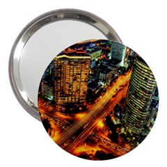 Hdri City 3  Handbag Mirrors