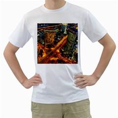 Hdri City Men s T-Shirt (White)
