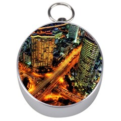 Hdri City Silver Compasses