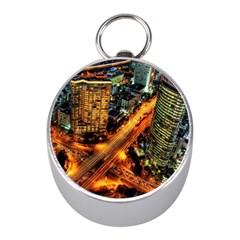 Hdri City Mini Silver Compasses