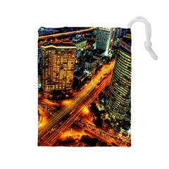 Hdri City Drawstring Pouches (large)