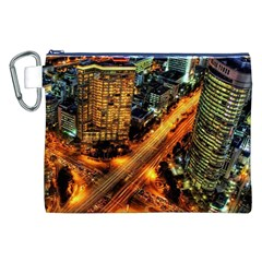 Hdri City Canvas Cosmetic Bag (xxl)