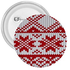 Crimson Knitting Pattern Background Vector 3  Buttons