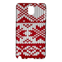 Crimson Knitting Pattern Background Vector Samsung Galaxy Note 3 N9005 Hardshell Case