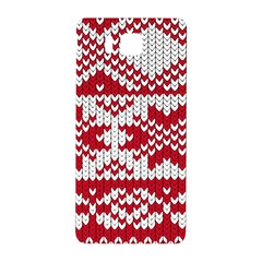 Crimson Knitting Pattern Background Vector Samsung Galaxy Alpha Hardshell Back Case