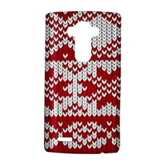 Crimson Knitting Pattern Background Vector LG G4 Hardshell Case