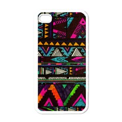 Cute Hipster Elephant Backgrounds Apple Iphone 4 Case (white)