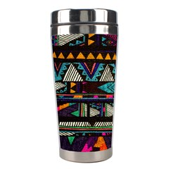Cute Hipster Elephant Backgrounds Stainless Steel Travel Tumblers