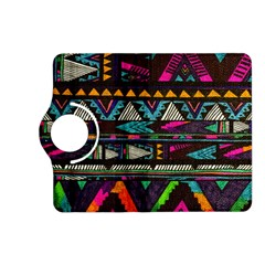 Cute Hipster Elephant Backgrounds Kindle Fire HD (2013) Flip 360 Case