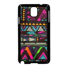 Cute Hipster Elephant Backgrounds Samsung Galaxy Note 3 Neo Hardshell Case (black)
