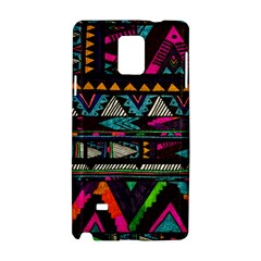Cute Hipster Elephant Backgrounds Samsung Galaxy Note 4 Hardshell Case
