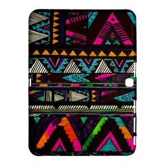 Cute Hipster Elephant Backgrounds Samsung Galaxy Tab 4 (10.1 ) Hardshell Case